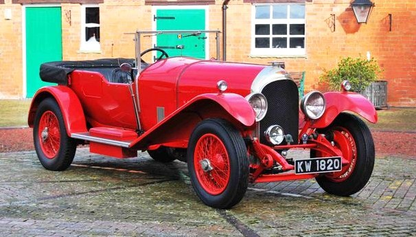 The 1927 Bentley 3-Liter Speed Model Tourer is one of the stars of the auction | Bonhams Auctions