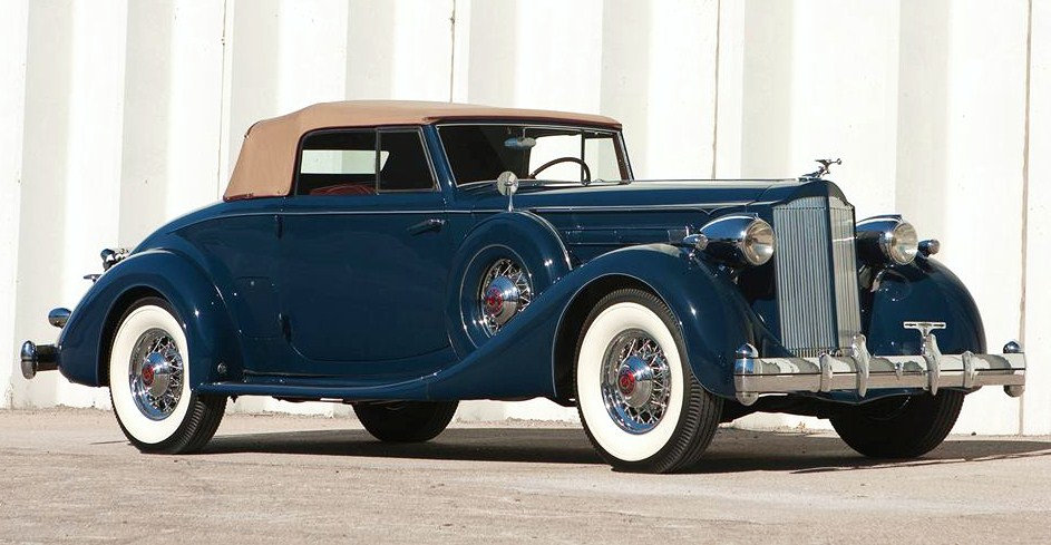 Full-classic 1935 Packard V12 convertible | Barrett-Jackson