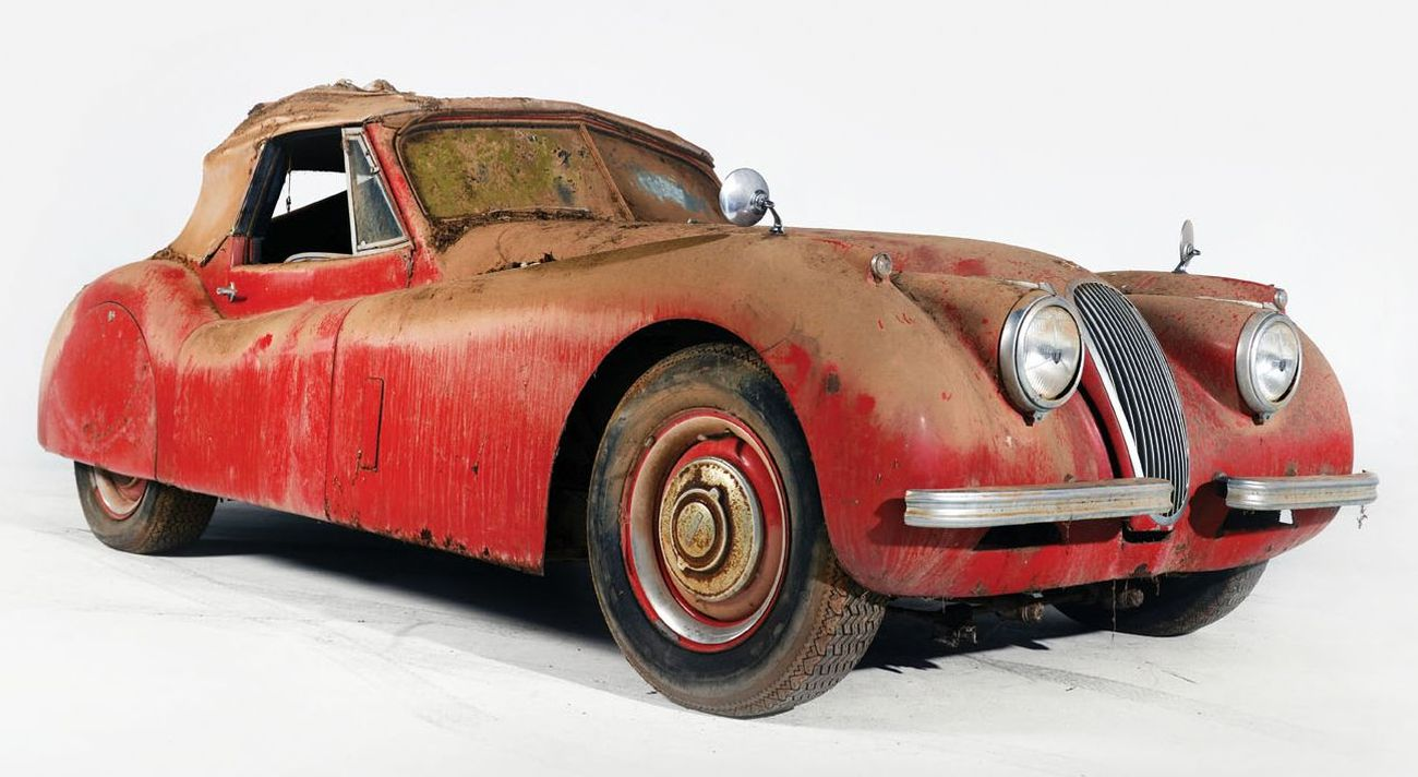 7 Barn Find Mania At The Auctions
