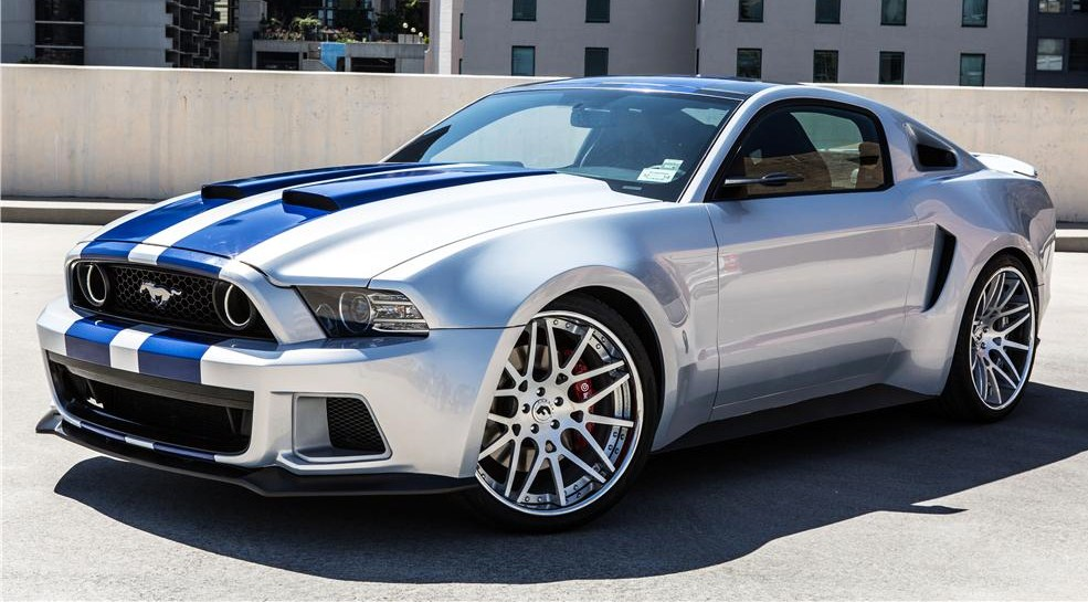 The 'Need for Speed' Mustang reached $300,000 | Barrett-Jackson