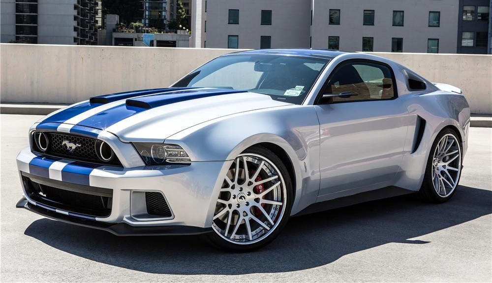 The 2013 Mustang from 'Need for Speed' | Barrett-Jackson