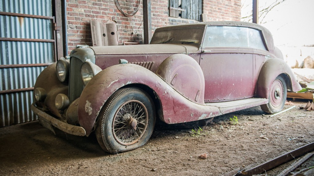Hooper-bodied 1939 Lagonda headed to Restoration Show Sale   Silverstone Auctions photos