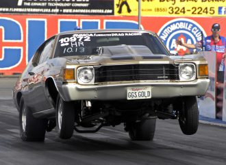 Drag racers turn clock back at March Meet