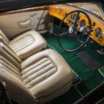 Bentley interior seats and dash