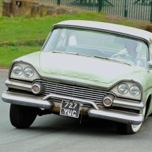 1958 Dodge sways to top in British hill climb