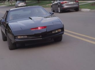 Homemade KITT: 'Knight Rider' replica car