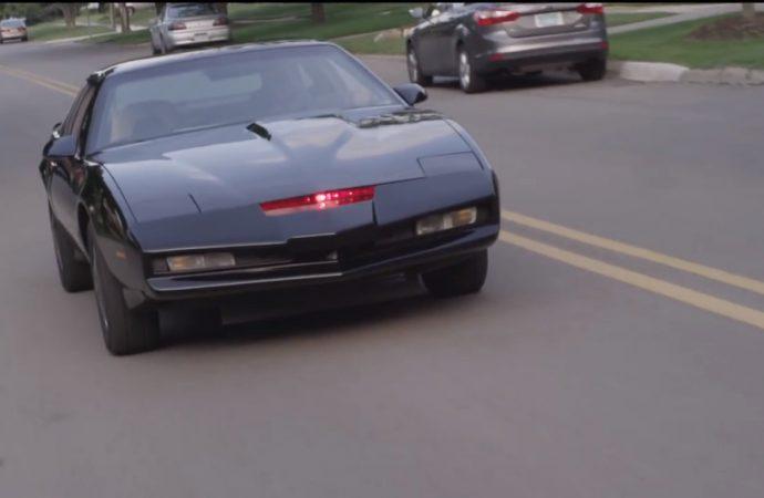 Homemade KITT: 'Knight Rider' replica car