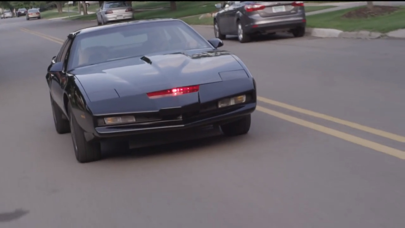Homemade Kitt Knight Rider Replica Car