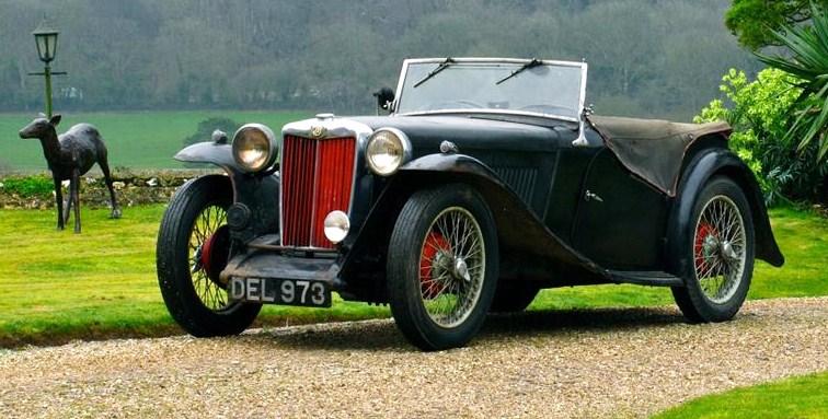 An original-condition 1937 MGTA sports car | Silverstone Auctions