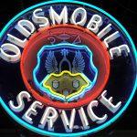 Oldsmobile Service Sign  DSC_0212