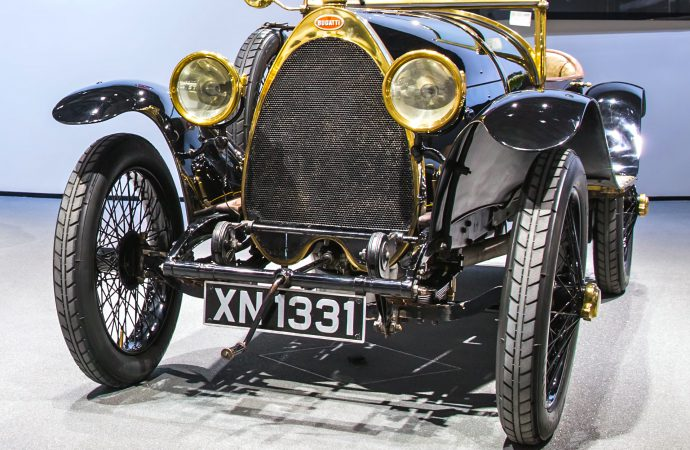 Multiple Choice: Original or contemporary 'Black Bess' Bugatti?