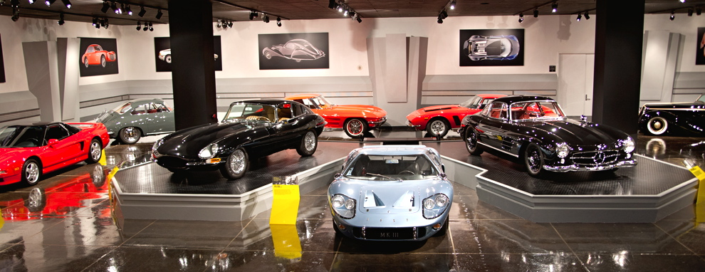 Petersen museum showcases celebrity-selected sports coupes | Petersen Museum photos