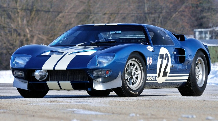 The Ford GT40 was raced by Shelby America during the 1965 season | Mecum Auctions