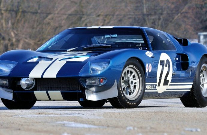$7 million GT40 goes to Utah motorsports museum