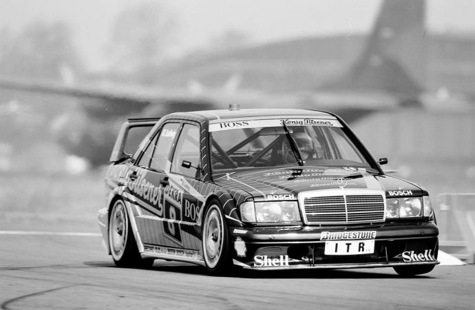 Mercedes sending historic cars to Nurburgring vintage races