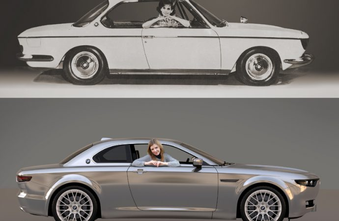 Designer updates a classic BMW