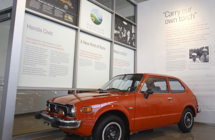 Honda opens heritage museum in Ohio
