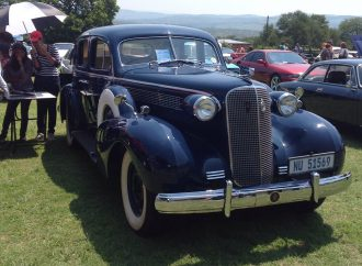 My Classic Car: Tony's South African 1937 Cadillac