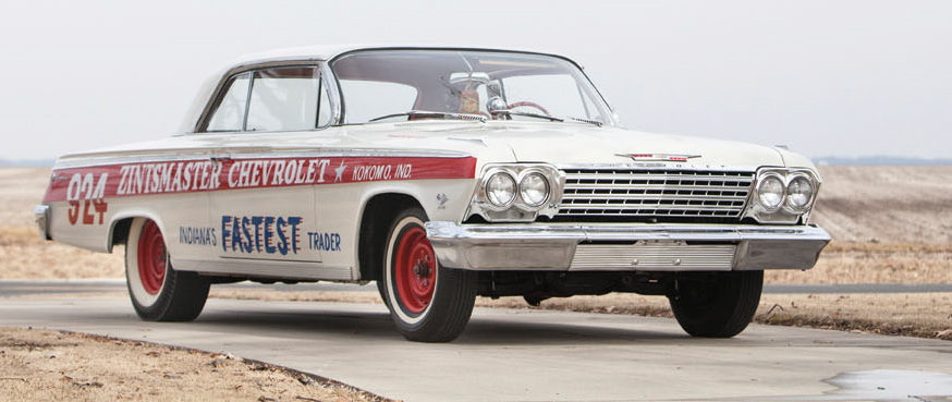 When new, '62 Chevy raced at Indy Nationals | Auctions America