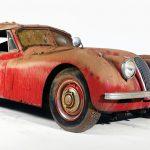 Barn-fresh 1954 Jaguar XK 120SE