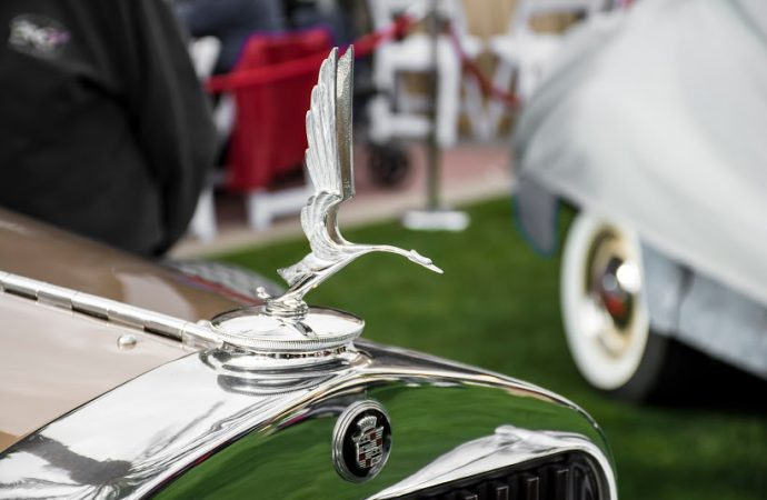 Hood ornaments from the Arizona Concours