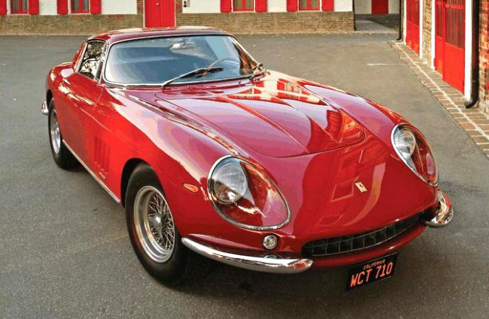 Steve McQueen-owned Ferrari GTB/4 at RM auction