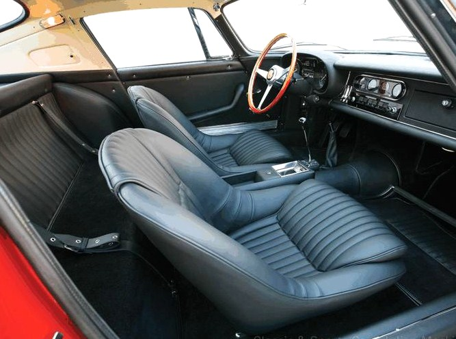 McQueen added custom seat trim | Classic & Sports Car