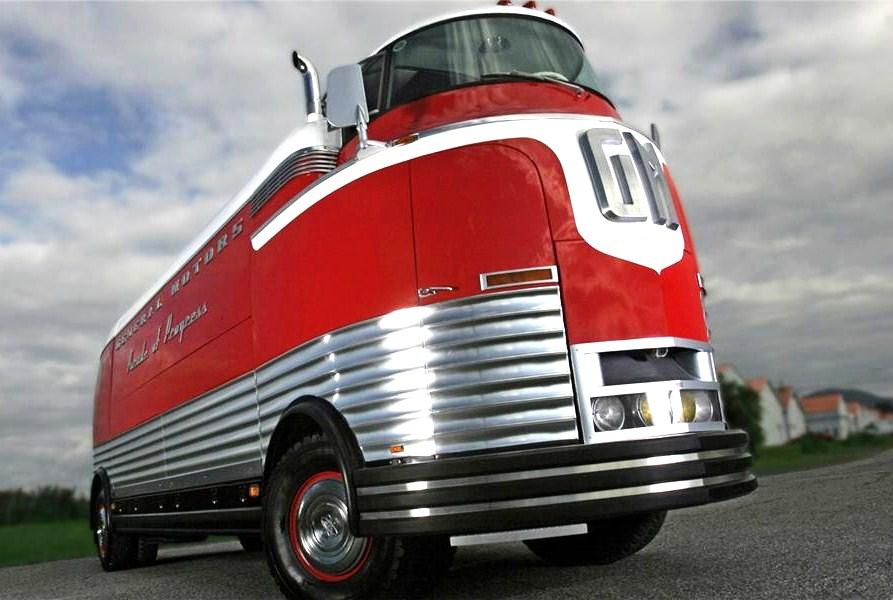 The fully restored 1950 General Motors Futurliner | Barrett-Jackson
