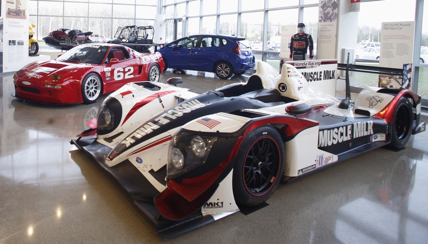 Part of the museum is dedicated to motorsports | Honda photos
