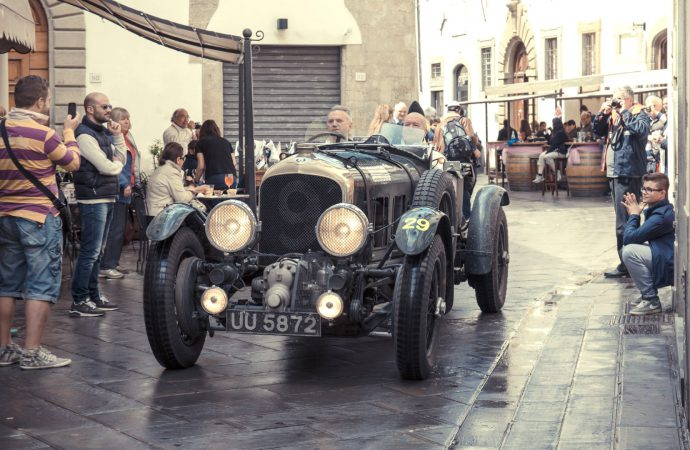 'Blower' Bentleys to run Italy's classic Mille Miglia