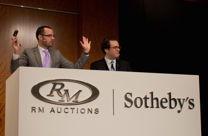 Breaking news! Sotheby's acquires 25 percent interest in RM Auctions