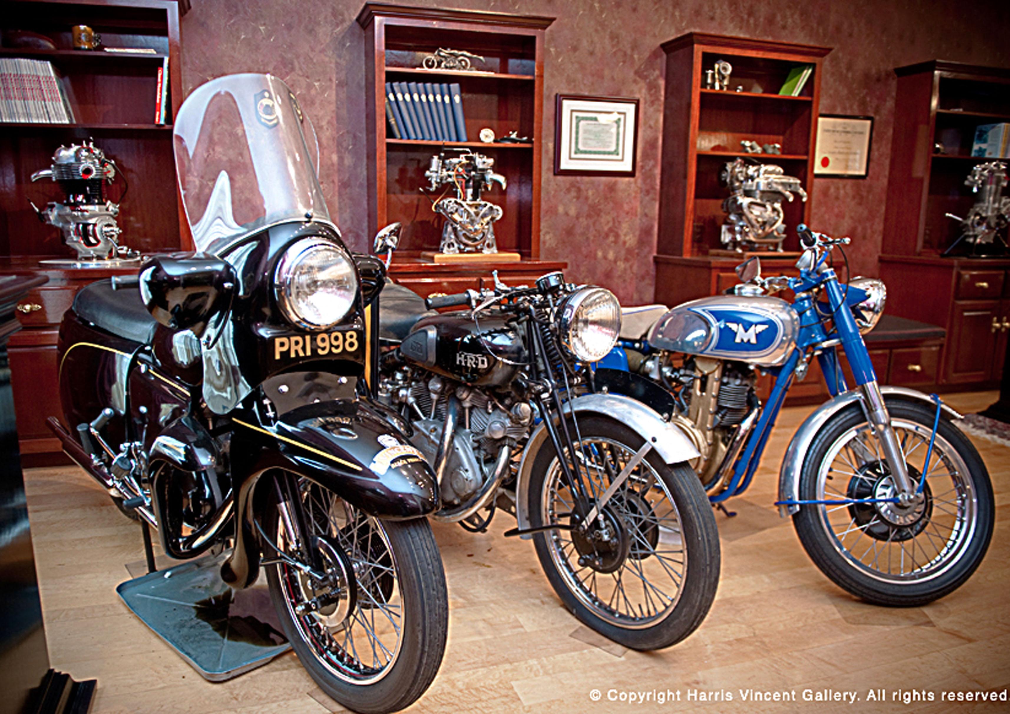 Bonhams lands Herb Harris Collection for Vegas motorcycle auction ...