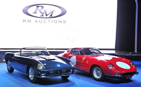 Ferraris lead RM's record-setting $56.7-million Monaco sale