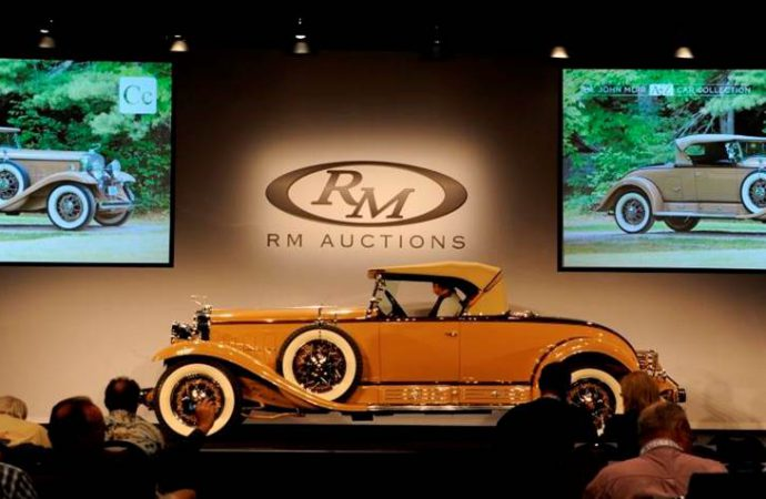 'Family' cars do very well at RM's Hershey auction