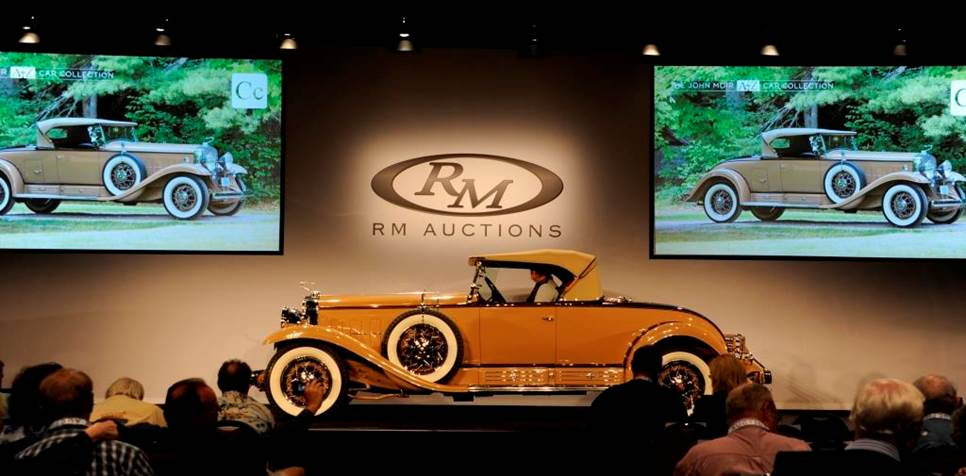 1930 Cadillac from Moir's A2Z collection sells for $1.1 million at Hershey auction| RM