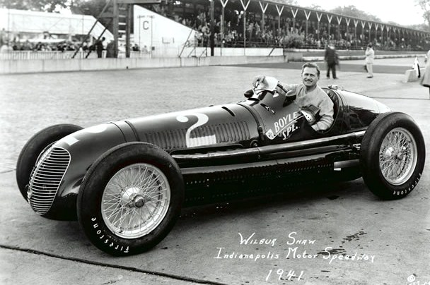 Wilbur Shaw in the Boyle Special at Indy | Indianapolis Motor Speedway