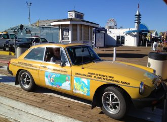 Our Classic Car: Peter and Kerith's 'round the world 1978 MGB GT