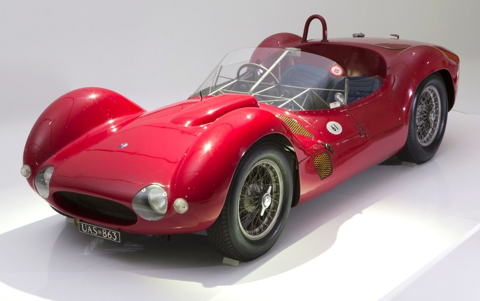 "Tipo 60 ""Birdcage"" sports racer pioneered tube chassis 