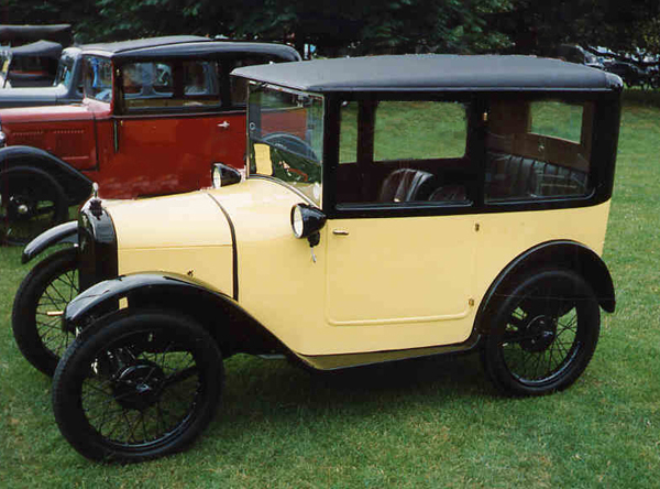 The 1926 Aston Seven Saloon