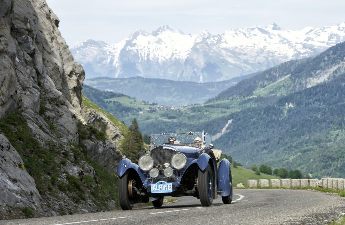 80 years later, Talbot repeats Alpine Trial victory
