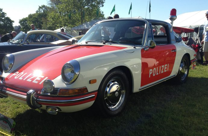 Charming! That's the Greenwich concours