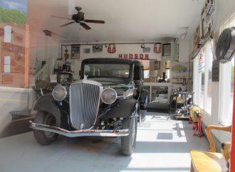 Historic 'last Hudson dealership' becomes National Hudson Museum