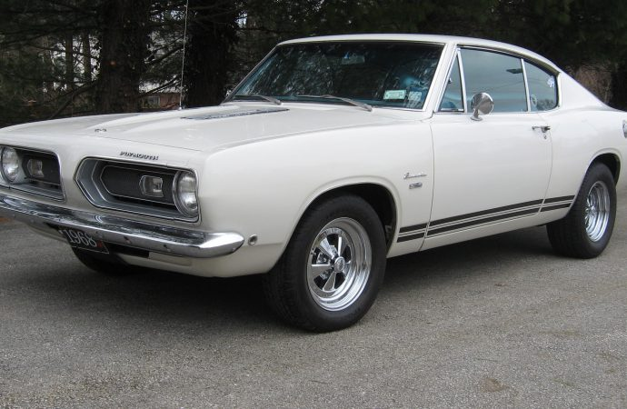 My Classic Car: Jeff's 1968 Plymouth Barracuda