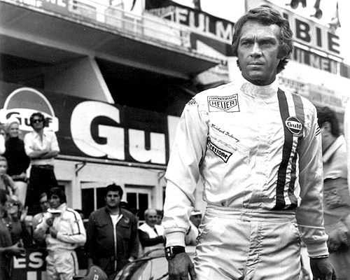 Steve McQueen as Michael Delaney in Le Mans | National General Pictures