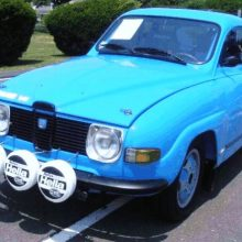 1970 Saab 96 V4 factory rally car