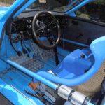 Saab rally interior