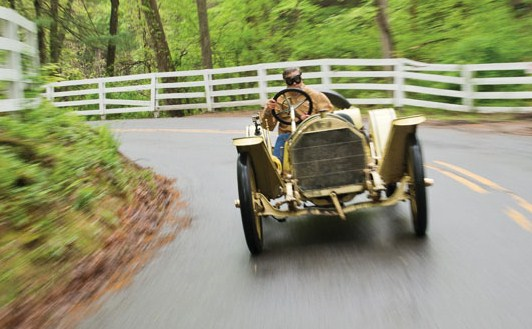 The Mercer was driven on Connecticut's country roads | RM Auctions
