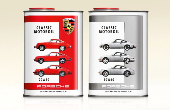 Porsche launches its own special motor-oil brand for classic air-cooled engines