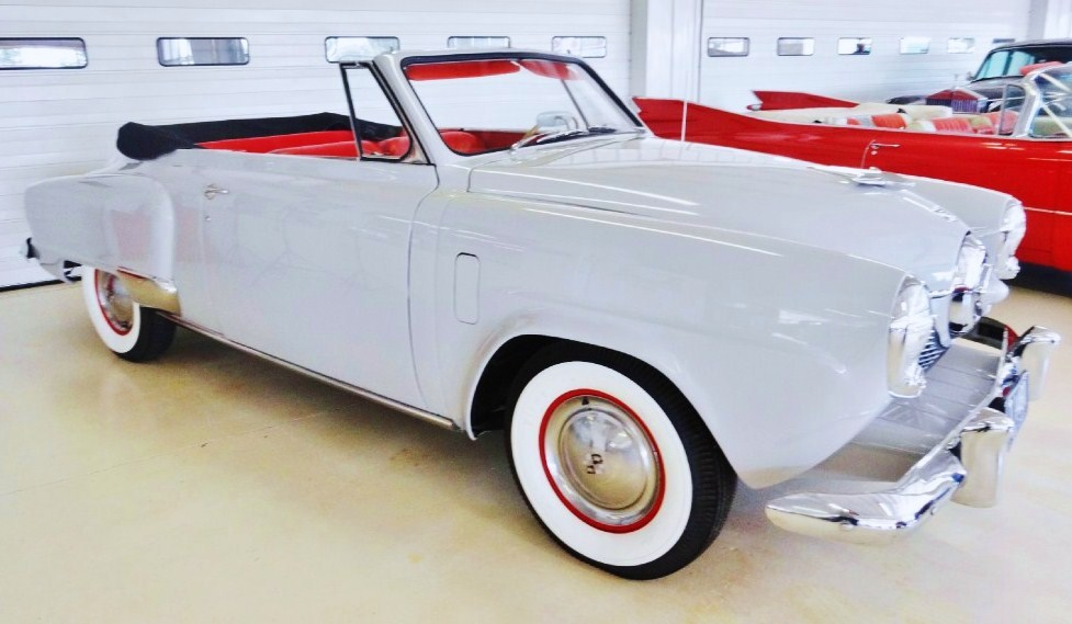 The Studebaker is a stunning top-down cruiser