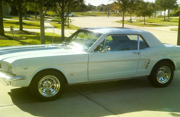My Classic Car: Tom's third 1966 Ford Mustang